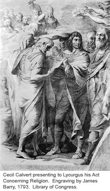 Lord Baltimore and Lycurgus