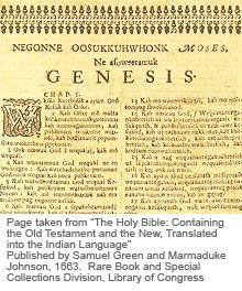 Native American Bible