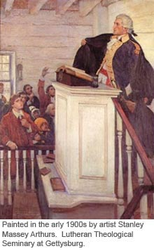 Reverend Peter J. Muhlenberg